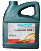 HULE DE TRANSMISSION AUTOMOBILE ADDINOL TRANSMISSION OIL GH 75W90 - Bidon 4 L